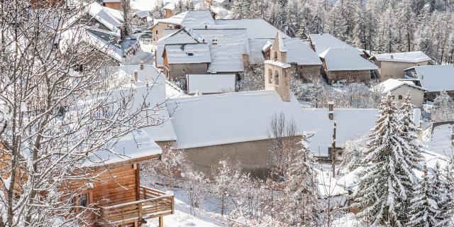 Vars Saint Marcellin sous la neige