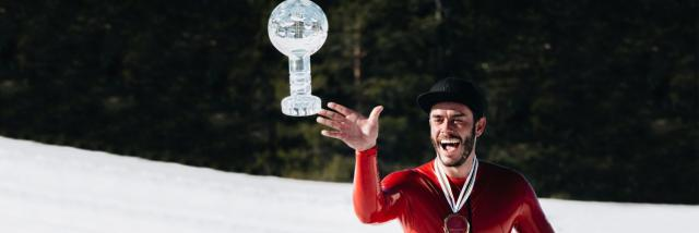 Simon Billy et son globe de cristal en 2021